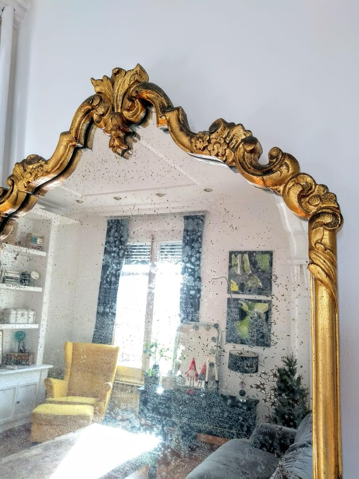 Espejo dorado Rincón Vintage