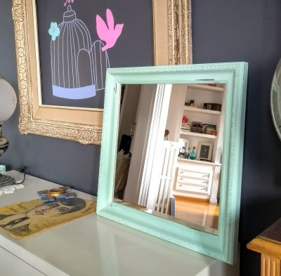 Espejo verde Vintage Rincón Vintage