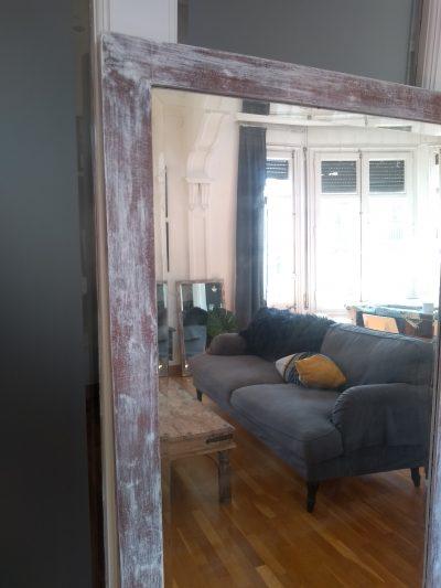 Espejo antiguo cuerpo entero Rincón Vintage