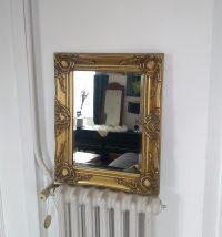 Espejo dorado estilo Rococó Rincón Vintage