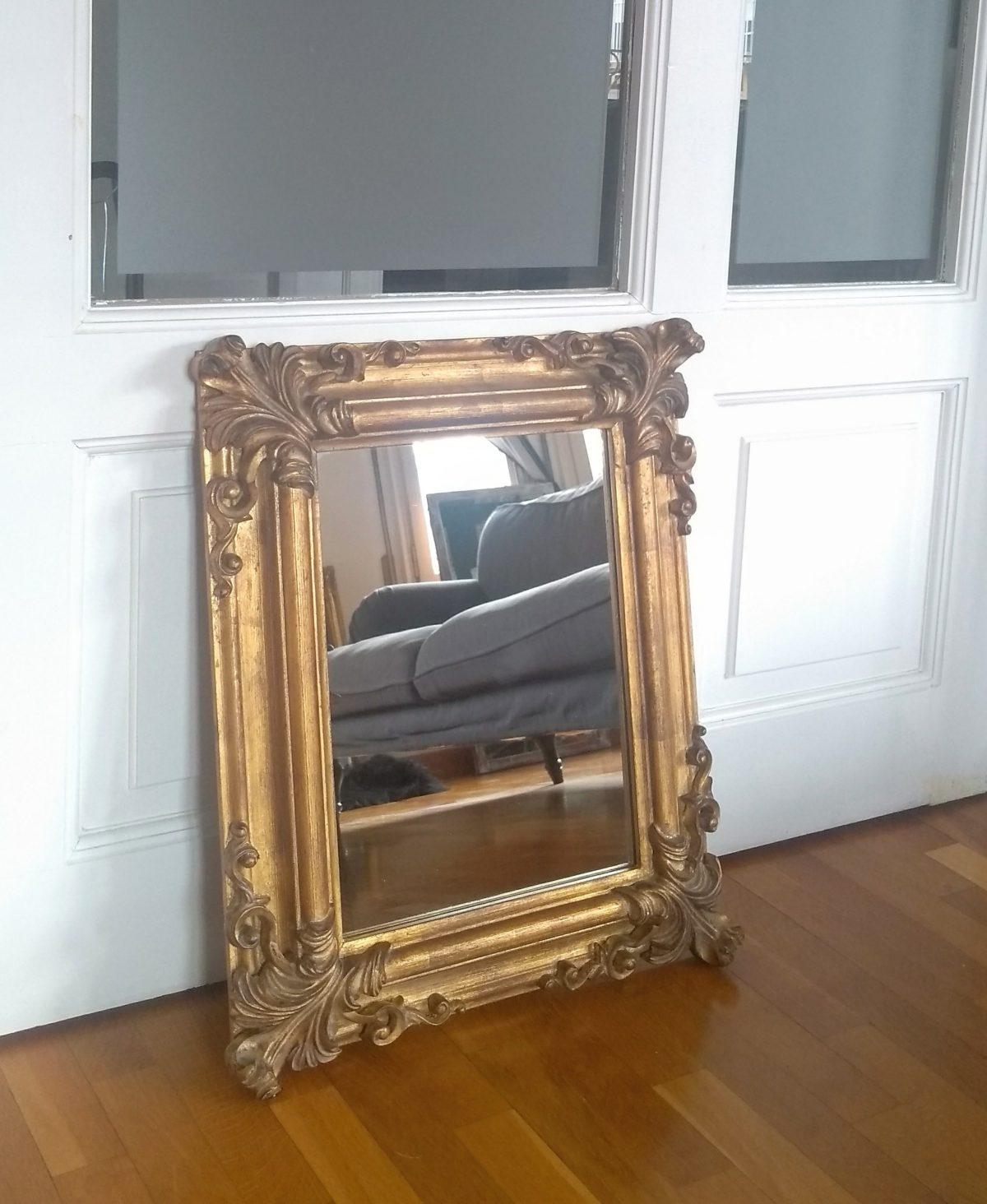 Espejo doradp estilo Rococó